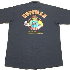 Simpsons Duff Man Beer Shirt